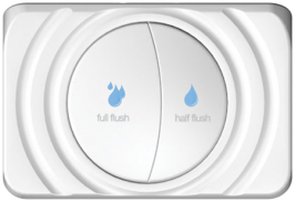 dual flush toilet controler